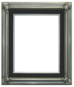pewterblack velvet empty photo frameswithout backing glass image size 8 x 10 antique hand made picture framedesigner frame 3 wide