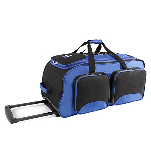 Fila 26'' Lightweight Rolling Duffel Bag, Blue, One Size by Fila (Image #5)