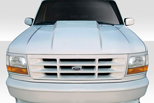 - Duraflex Replacement for 1992-1996 Ford F-150 / Bronco Cowl Hood - 1 Piece