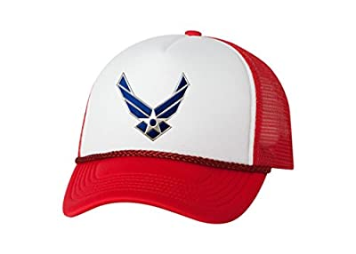 Rogue River Tactical USAF US Air Force Logo Trucker Hat United States Baseball Cap Retro Vintage Military Cover from Rogue River Tactical