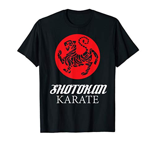 Shotokan Karate Tiger Graphic Martial Arts T Shirt ()