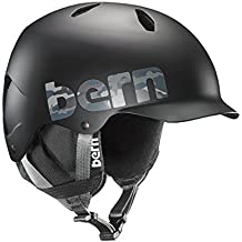 Bern Unlimited Bandito EPS Matte Finish Snow Helmet with Black Liner