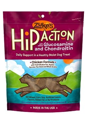 Zuke'S Hip Action Treats Chicken 6oz