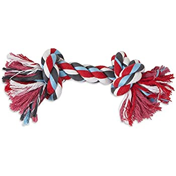 Aspen/Booda Corporation DBX50774 2-Knot Rope Bone Dog Toy, X-Large