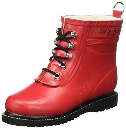 Ilse Rub2 Rot pioggia Stivali da da donna rossi Jacobsen 303 tief FFUR7rqO