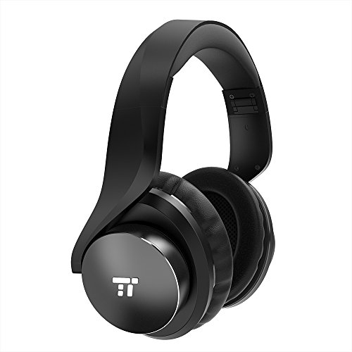 TaoTronics Active Noise Cancelling Bluetooth Headphones HiFi Stereo Wireless Over Ear Deep Bass Headset w/CVC...