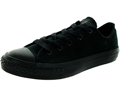 Converse Chuck Taylor All Star Youth Oxfords Black Monochrome 11.5