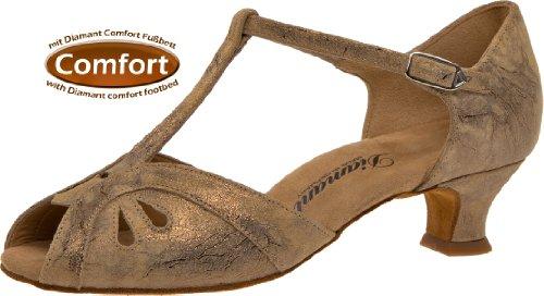 2 311 Magic Chaussures Danse 011 Bronce Cuir cm Diamant Bronze Spanish 4 Femmes 019 de aPBBRq
