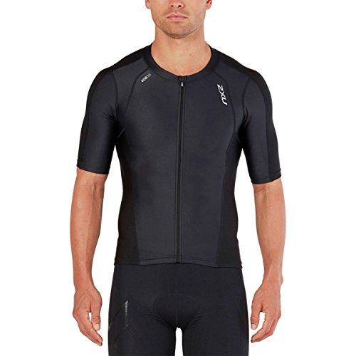 2 De U Triathlon Compression noir Manches nbsp;x Short Top Noir À PwPrq4Hn
