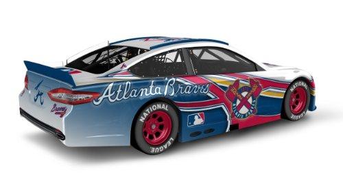 Atlanta braves major league baseball hardtop diecast car for Atlanta department of motor vehicles