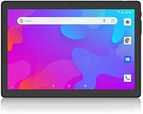 Tablet 10 inch, Android 9.0 Pie, Octa-Core Processor, 3GB RAM, 32GB Storage, Dual Band 5GHz/2.4GHz WiFi Tablets, 1200x1920 IPS Full HD Display, USB Type C Port, Black