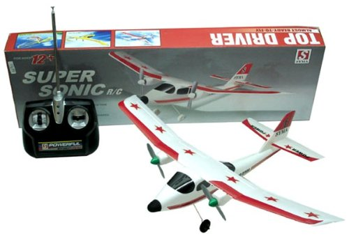 Sonic Airplane - REMOTE CONTROL SUPER SONIC AIRPLANE RC READY TO FLY