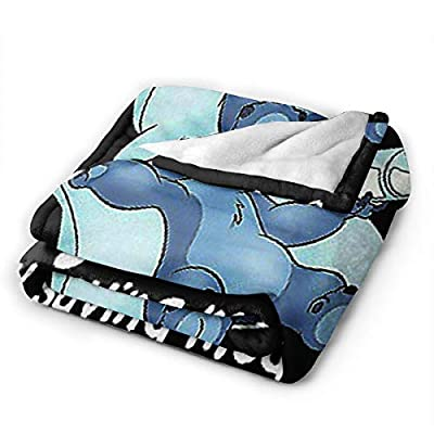 ZMBEN Blanket Duvets Sti-tch Energy Plush Micro Fleece Soft Quilt for Home Women Gifts 80