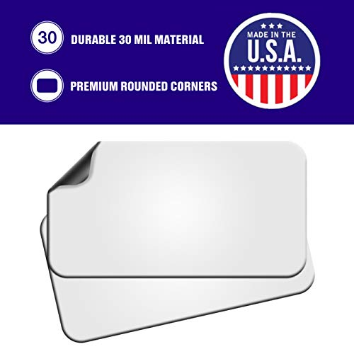 Blank Magnets (2 Pack) – Rounded Corners 12'' x 24'' Blank Car Magnet Set – Perfect Magnet for Car to Advertise Business, Cover Company Logo (for HOA), and Prevent Car Scratches & Dents – New! by SignHero (Image #3)