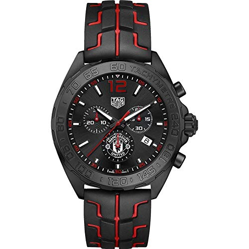 TAG Heuer Formula 1 Manchester United 43mm Men's Watch CAZ101J.FT8027 (Parts Watch Tag Heuer)