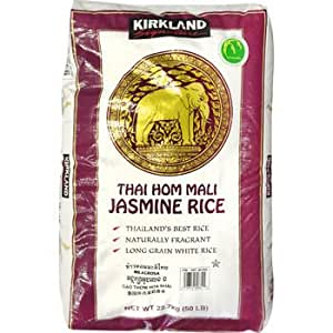 Amazon.com : Jasmine Rice, 50 Pound : Grocery & Gourmet Food
