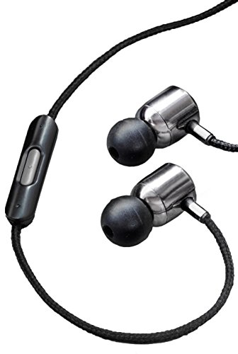 NHT SuperBuds In-Ear Aluminum Headphones with In-Line Controls (Black)
