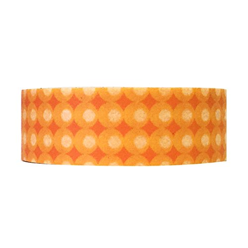 Wrapables Colorful Patterns Masking Orange