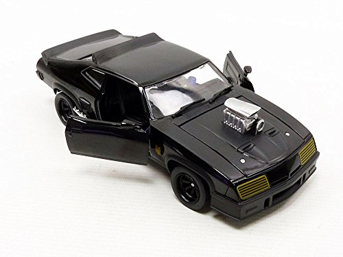 Greenlight 1:24 Last of the V8 Interceptors (1979) -1973 Ford Falcon XB (84051) Die-Cast Vehicle, Black by Greenlight (Image #6)