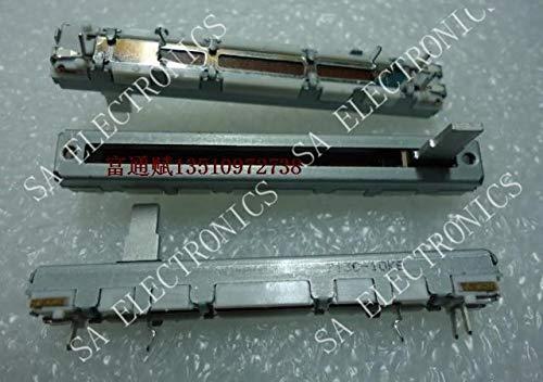 (Xinini Slide authentic imported Japanese potentiometer sliding push-pull single B10K 3 feet 6 cm-10PCS/LOT)
