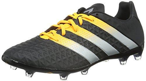 adidas Herren Ace 16.2 Fg/AG Fußballschuhe Schwarz (Core Black/Silver Met./Solar Gold)