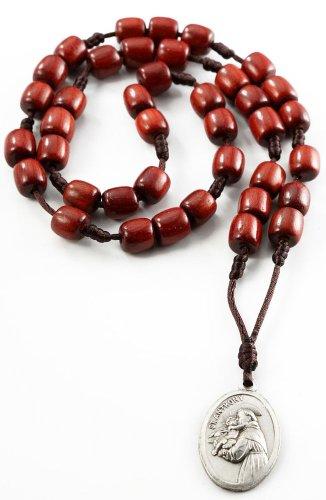 Anthony Chaplet Rosary Prayer Cherry product image