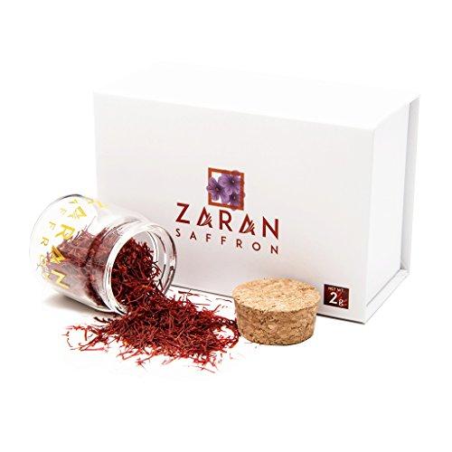 Zaran Saffron (2 grams/.070oz) Premium Saffron - Super Negin