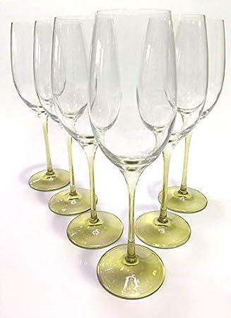 Prime Versand Design Champagnerglas Sektglas Sektkelch 6er Set