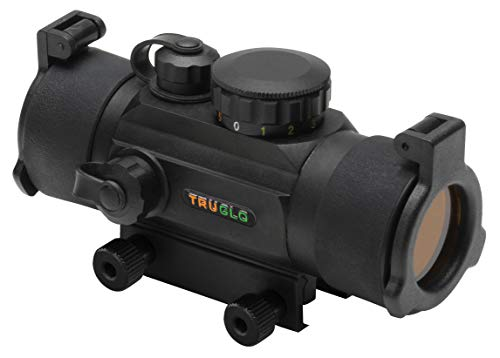 TRUGLO Red-Dot Sight 30mm Black (Best Red Dot For Hunting)