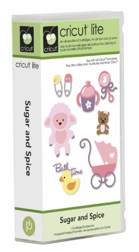 Cricut Lite Cartridge Sugar and Spice - Cartridge Animal Cricut