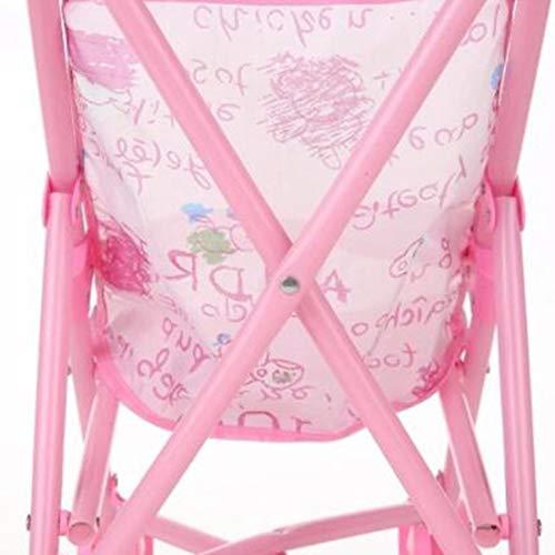 Amazon.es: Lynn025Keats Infantil del Bebã© de la Muã±Eca del Carro del Cochecito Plegable con la Muã±Eca de 12 Pulgadas para Muã±Eca Barbie: Juguetes y ...