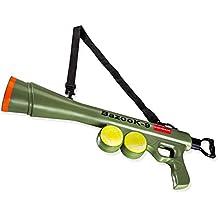 Paws & Pals BazooK-9 Tennis Ball Launcher Gun with 2 Squeaky Balls