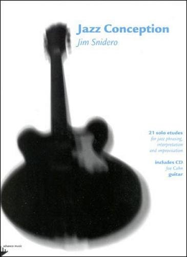 Advance Music Jazz Conception for Guitar Book and CD