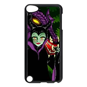 Ipod Touch 5 Cell Phone Case for Classic Theme Disney Maleficent Cartoon pattern design GDSNMLT13797