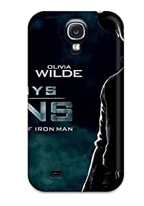 Hot Snap-on Cowboys And Aliens Movie Hard Cover Case/ Protective Case For Galaxy S4
