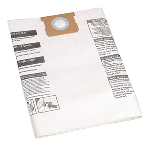 Shop-Vac 9066300, Type G,  15-22-Gallon Disposable Collection Filter Bag, 3 (Shop Vac Dust Collection)