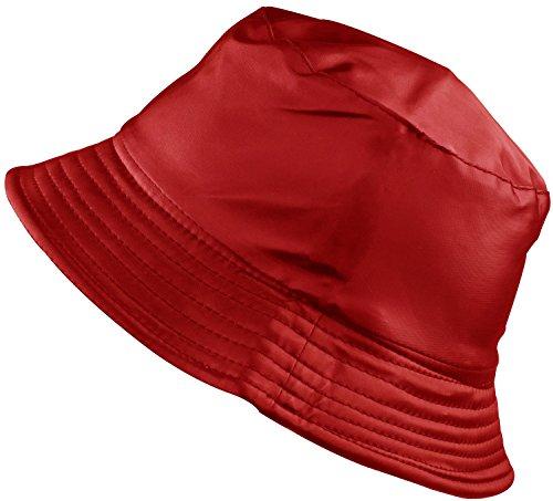 BODY STRENTH Women's Rain Hats Waterproof Hats For Women Bucket Rain Hat Ourdoor Bucket (Body Womens Cap)
