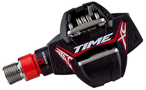 Time ATAC XC 12 Titan Carbon Pedals Red/Black, One Size
