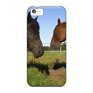 Iphone 5c UqvVYai2079tMkHY Horse Talk Tpu Silicone Gel Case Cover. Fits Iphone 5c