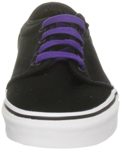 Vans Volwassene 106 Vulc Sneakers - Zwart Helio, Heren 4, Dames 5.5