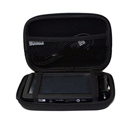 5'' Inch Hard Carrying Travel GPS Case Bag Pouch Protective Shell For 5'' 5.2 Inch Garmin Nuvi 55LM 54LM/54 52LM/52 2597LMT 2577LT 2557LMT 3597LMT TomTom Magellan RoadMate Devices Blue by Teaeshop (Image #6)'
