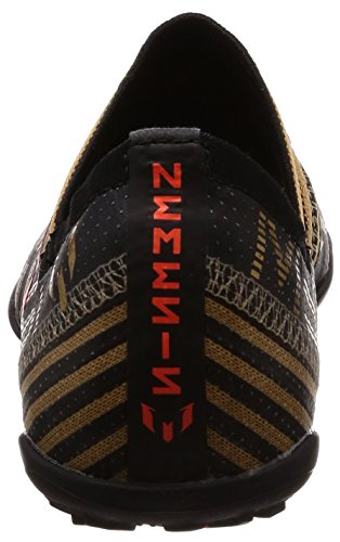 adidas Nemeziz Messi Tango 17.3 TF J, Botas de Fútbol Unisex Niños Negro (Negbas / Rojsol / Ormetr 000)