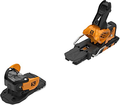 SALOMON Warden MNC 13 Ski Bindings Saffron/Black Sz 115mm