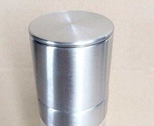 KEANER 2 in 1 Stainless Steel Manual Pepper Grinder