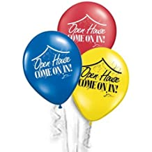 """Open House Balloons *Make Your Open House POP* with this Pack of (200) 'OPEN HOUSE' 11"""" ASSORTMENT *by REballoons (TM)"""