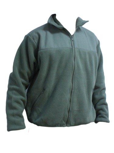 KENYON Men's Polartec Fleece Military Liner Jacket, Foliage Green, Large
