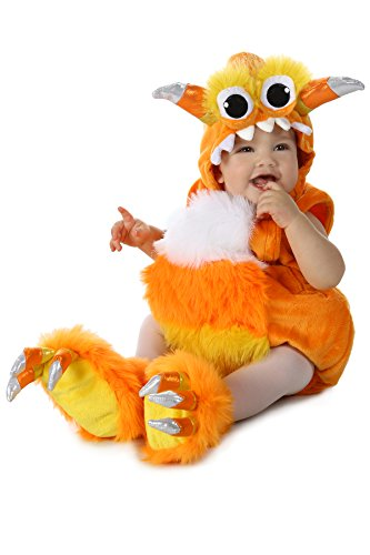 Princess Paradise Baby Candy Horn Monster Deluxe Costume, Orange/White 6 to 12 Months -