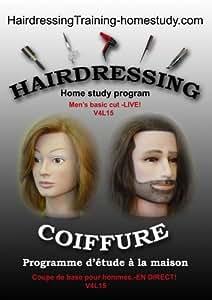 V4L15 - Men's basic cut -LIVE | hairdressing training lesson