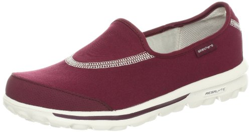Rouge Skechers Burg Walk Fashion GO femme Oqrx6fIq