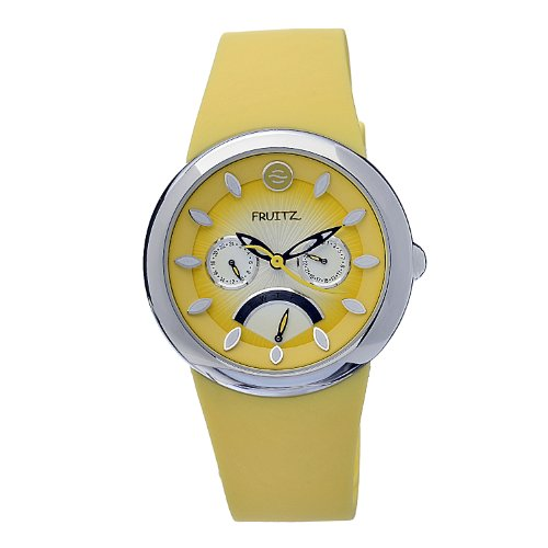 Philip Stein Women s F43S-M-Y Quartz Stainless Steel Yellow Dial Watch